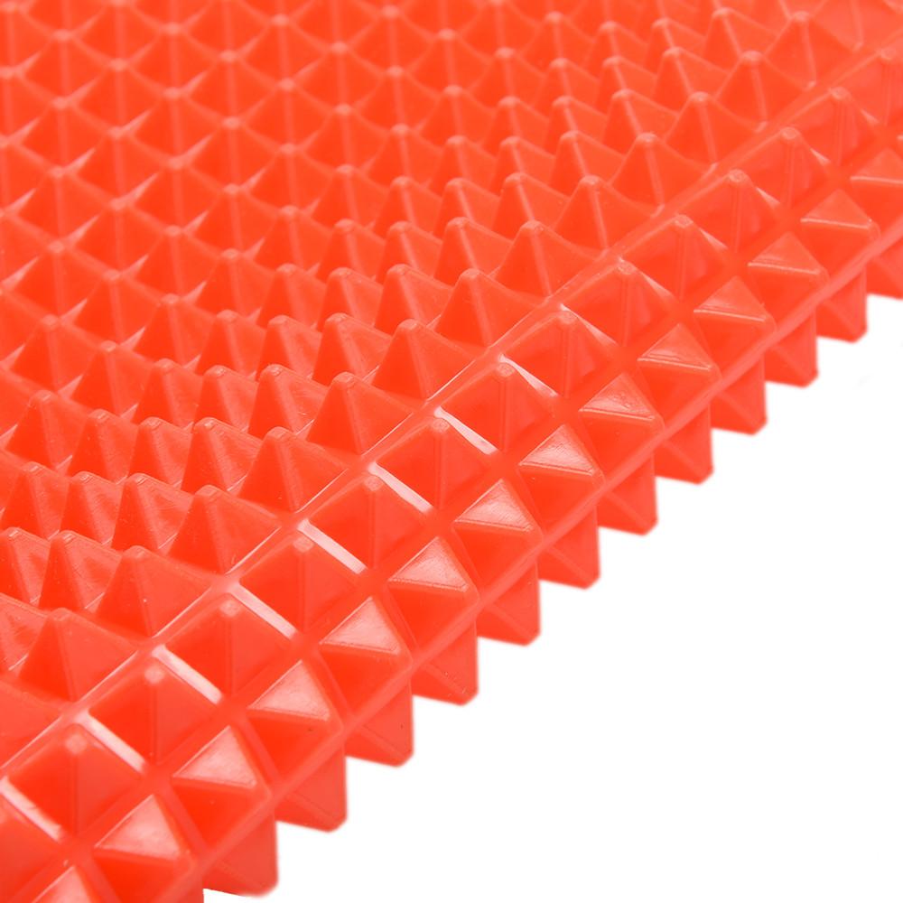 1XPyramiden Noppen Backmatte Silikon Backpapier Grillmatte Backen BBQ 6T3d
